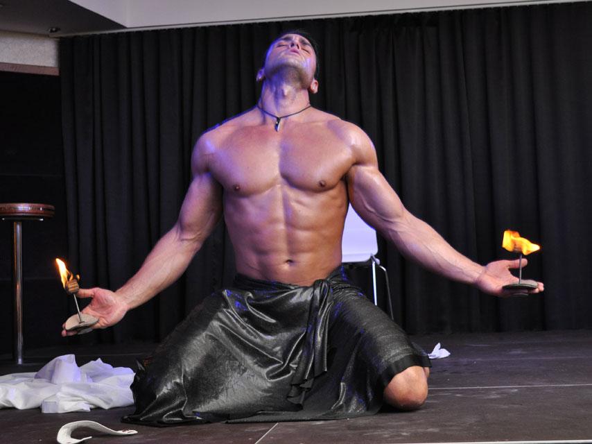 gladiator men strip