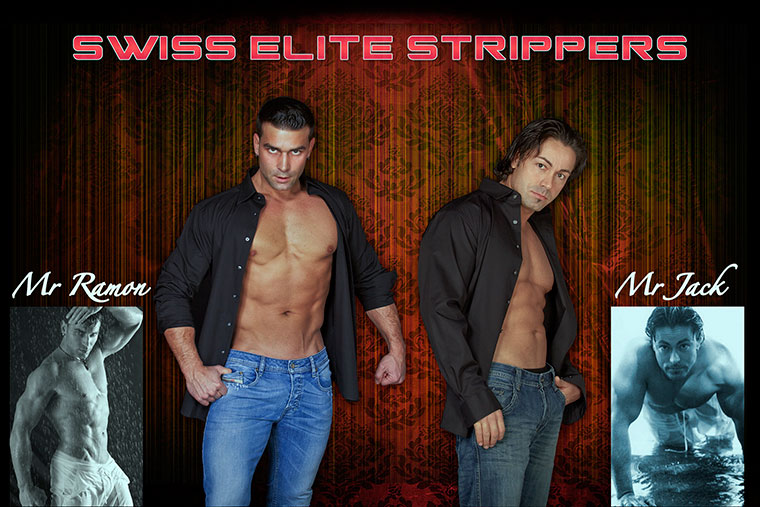 Mr. Ramon & Mr. Jack als Swiss Elite Strippers Duo
